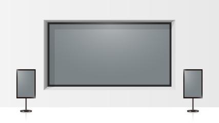Digital signage (Large format display)
