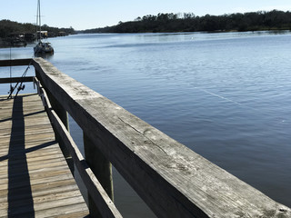 River Deck View. Photo Image