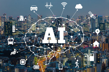 AI (Aritificial Intelligence) and transportation.