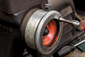 Vintage antique automotive machine shop