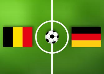 Deutschland VS Belgien - Fußball