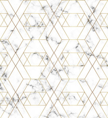 White marble texture with gold line pattern. Background for designs, banner, card, flyer, invitation, party, birthday, wedding, placard