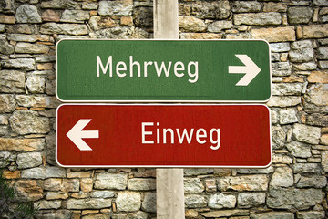 Schild 316 - Mehrweg