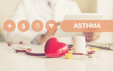 HEALTH CONCEPT: ASTHMA