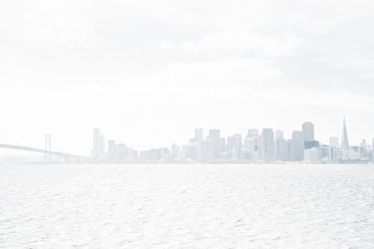 White city background