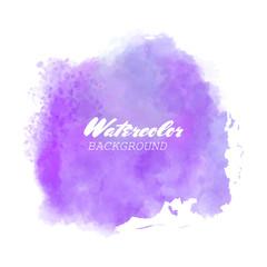 purple watercolor vector background
