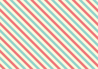 Red and blue diagonal striped background