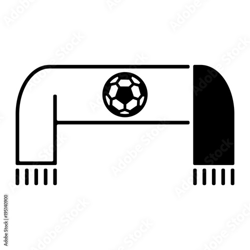 Fussball Icon Fanschal Stock Image And Royalty Free Vector