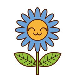 cute kawaii flower decoration cartoon