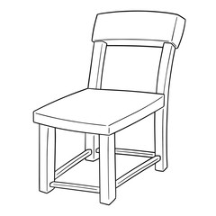 vector of chair