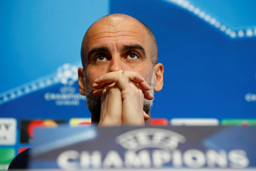 Champions League - Manchester City Press Conference