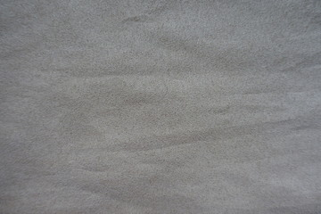 Artificial suede fabric in dull shade of grey Wall mural