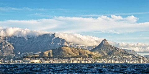 Staande foto Zuid Afrika Panorama of Cape Town, South Africa