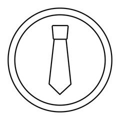 retro label fashion necktie for man