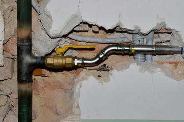 neue Gasleitungen
