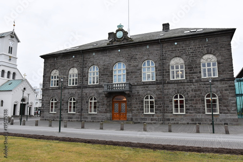 Iceland Reykjavik Althing Nati...