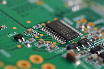 Computer board texture