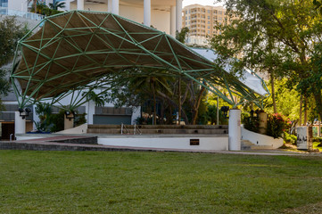 amphitheater in downtown Fort Lauderdale