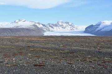 Iceland skaftafell Vatnajokull アイスランド ヴァトナヨークトル スカフタフェトル氷河