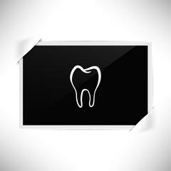 Foto Rahmen Querformat - Zahnschmelz