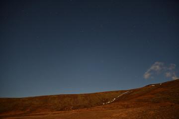 Iceland Star from near Skaftafell