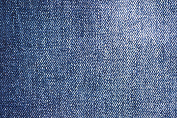 Blue Fabric Jeans Background Texture