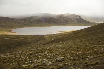Laguna Milluni in Bolivia