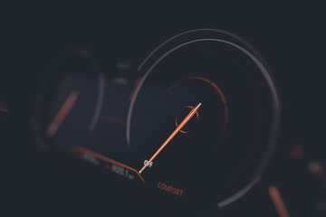 Car digital speedometer