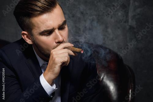 handsome rich man