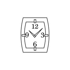 Watch line icon. Clock Icon. Premium quality graphic design. Signs, symbols collection, simple icon for websites, web design, mobile app