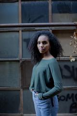 African teenager portrait