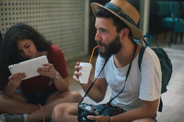 Millennials on a road trip