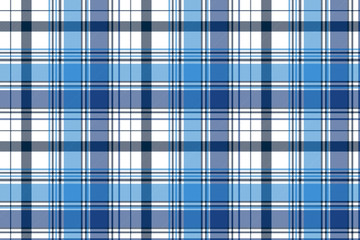 Blue diagonal abstract plaid seamless pattern