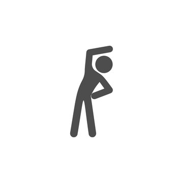 warm-up icon.Element of popular fitness  icon. Premium quality graphic design. Signs, symbols collection icon for websites, web design,