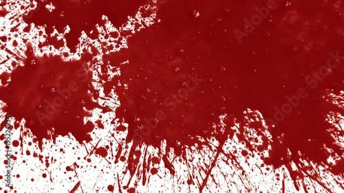 Blood splatters on background