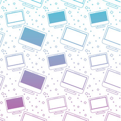 computer display pattern background vector illustration design