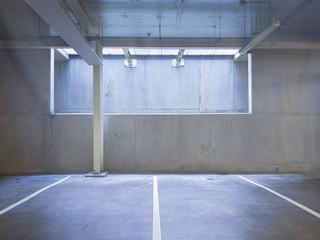 Underground parking...