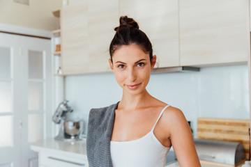 Italian Woman at Home