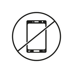 Do not use mobile phone icons