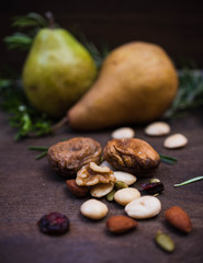 Pears and Nuts