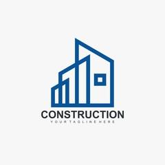 Home construction logo element.