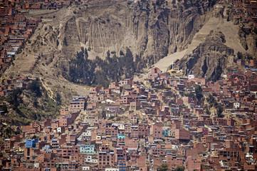 Citiscape La Paz, Bolivia