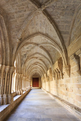 Poblet Monastery, in Catalonia spain