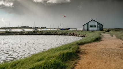 Passing Rain at Newtown Creek, Isle of Wight