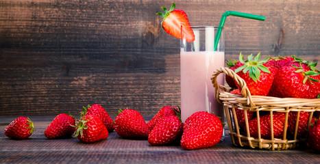 苺とジュース