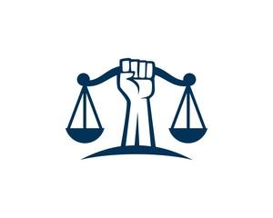 Revolution justice logo