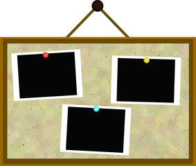CorkBoard the photo was pasted 2
