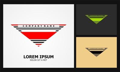 triangle sport icon company logo