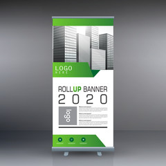 Roll up banner , business banner