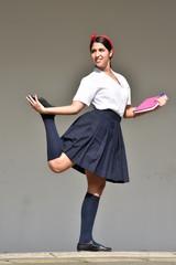 Female Dance Student Posing